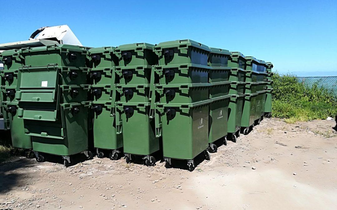 Adquisición de contenedores